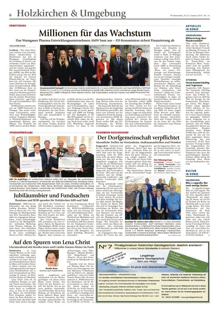 thumbnail of Millionen für das Wachstum – Holzkirchner Merkur
