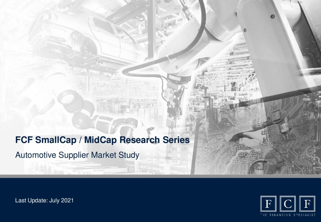 thumbnail of Automotive Supplier Market Study 2021