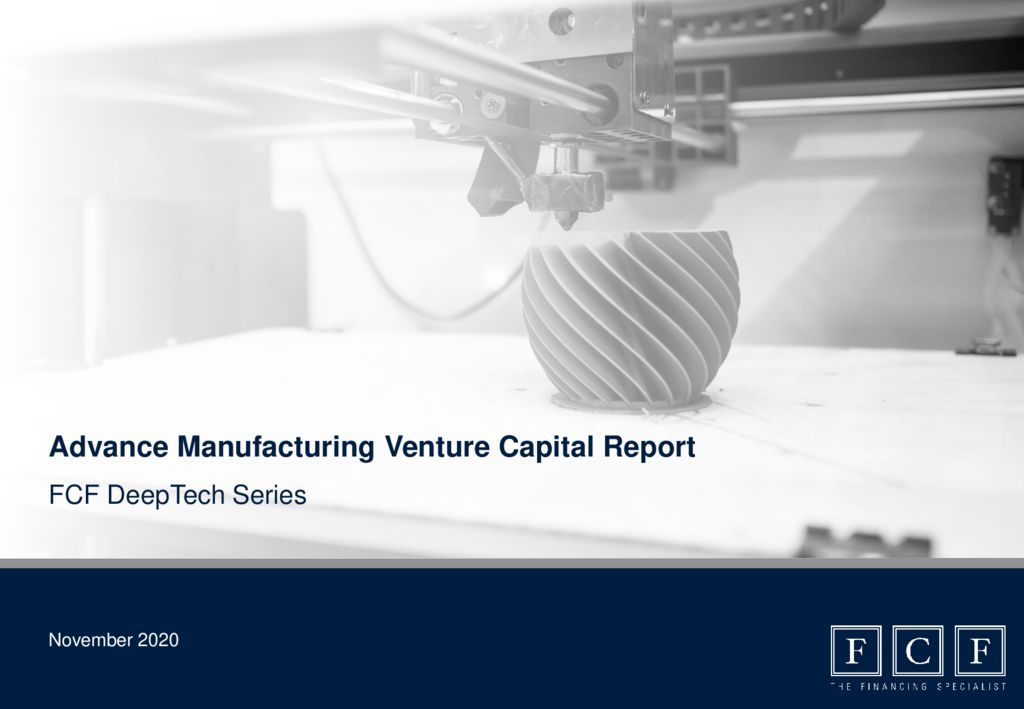 thumbnail of FCF Advance Manufacturing Venture Capital Report 2020