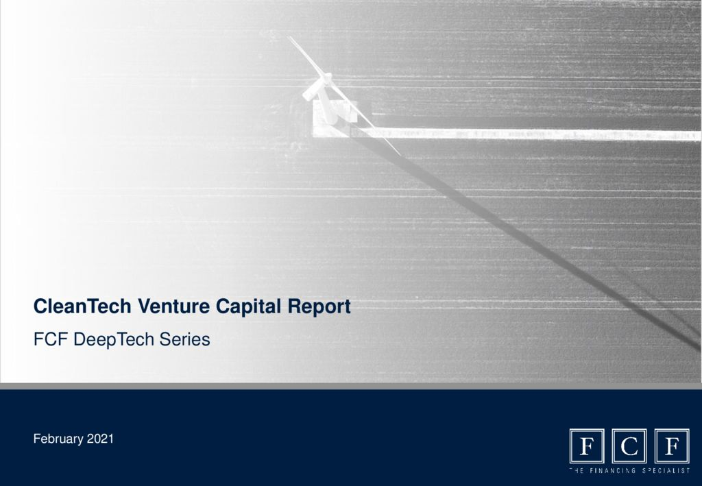 thumbnail of FCF Clean Tech VC Report – 02_2021